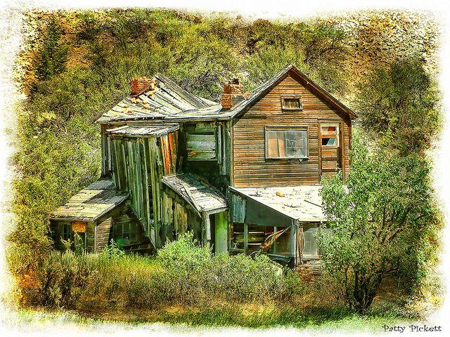 Bayhorse ghost town Idaho
