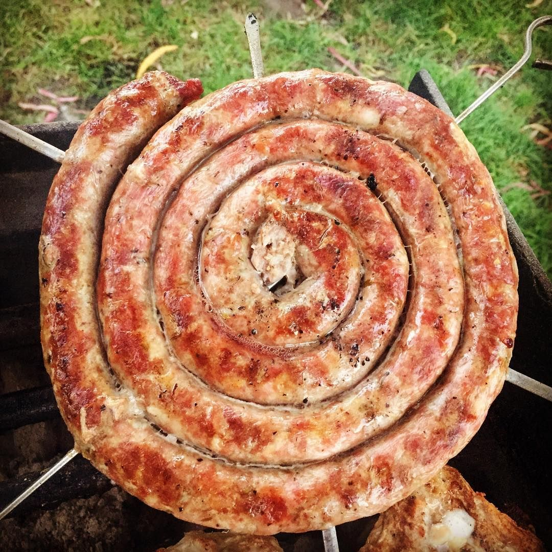 Delicious mat hlesson in the form of sicilian sausage. Estimate length of sausage given its diameter is one inch.