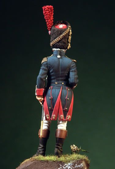 Officer of the Grenadiers of the Imperial Guard, France 1804-15