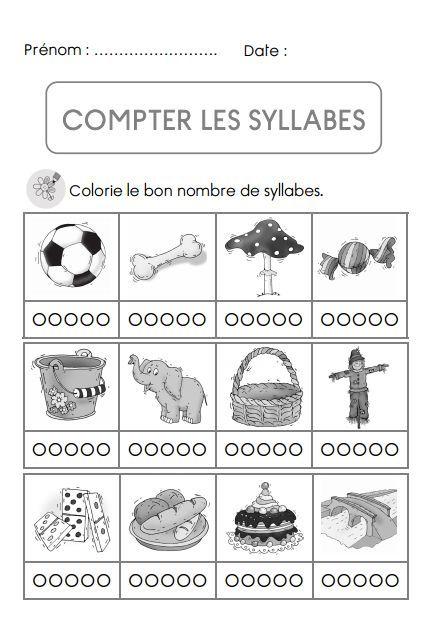 Super phonologie : brevet compter les syllabes | Envol | Pinterest | Les  UE26