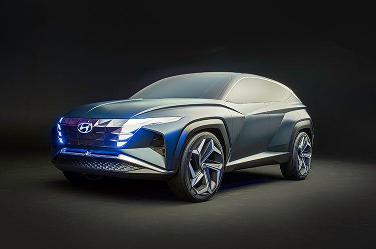 Hyundai Vision T Plug-in Hybrid SUV Concept — urdesignmag