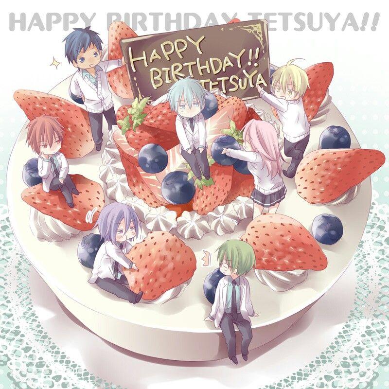 Kuroko no Basuke! Happy birthday tetsuya!!