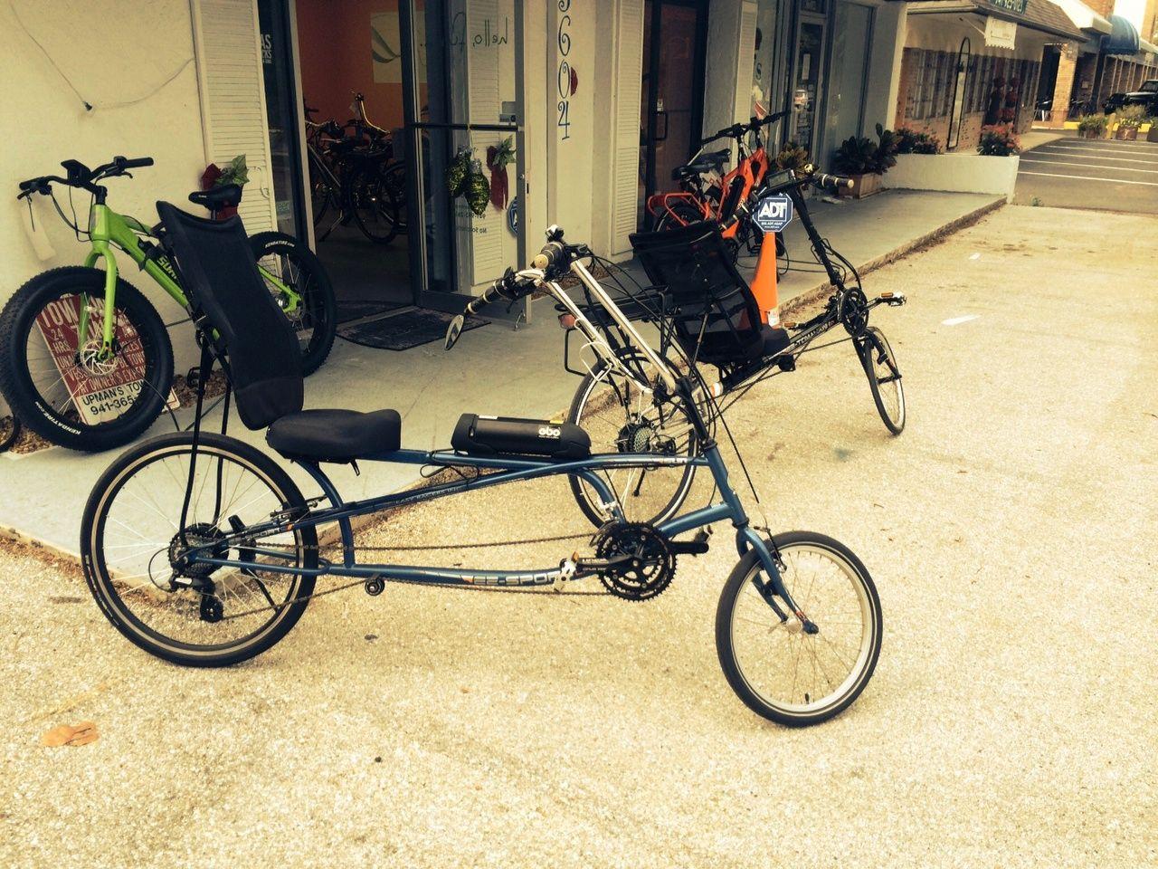 Electric Bike Outfitters Phantom E Bike Conversion Kits Installed On A Sun Tomahawk Cx Recumbent Bike Electric Bike Electric Bike Kits Bike