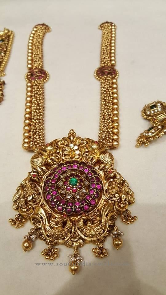 South Indian Gold Jewellery Designs | Indian gold jewelry, Gold ...