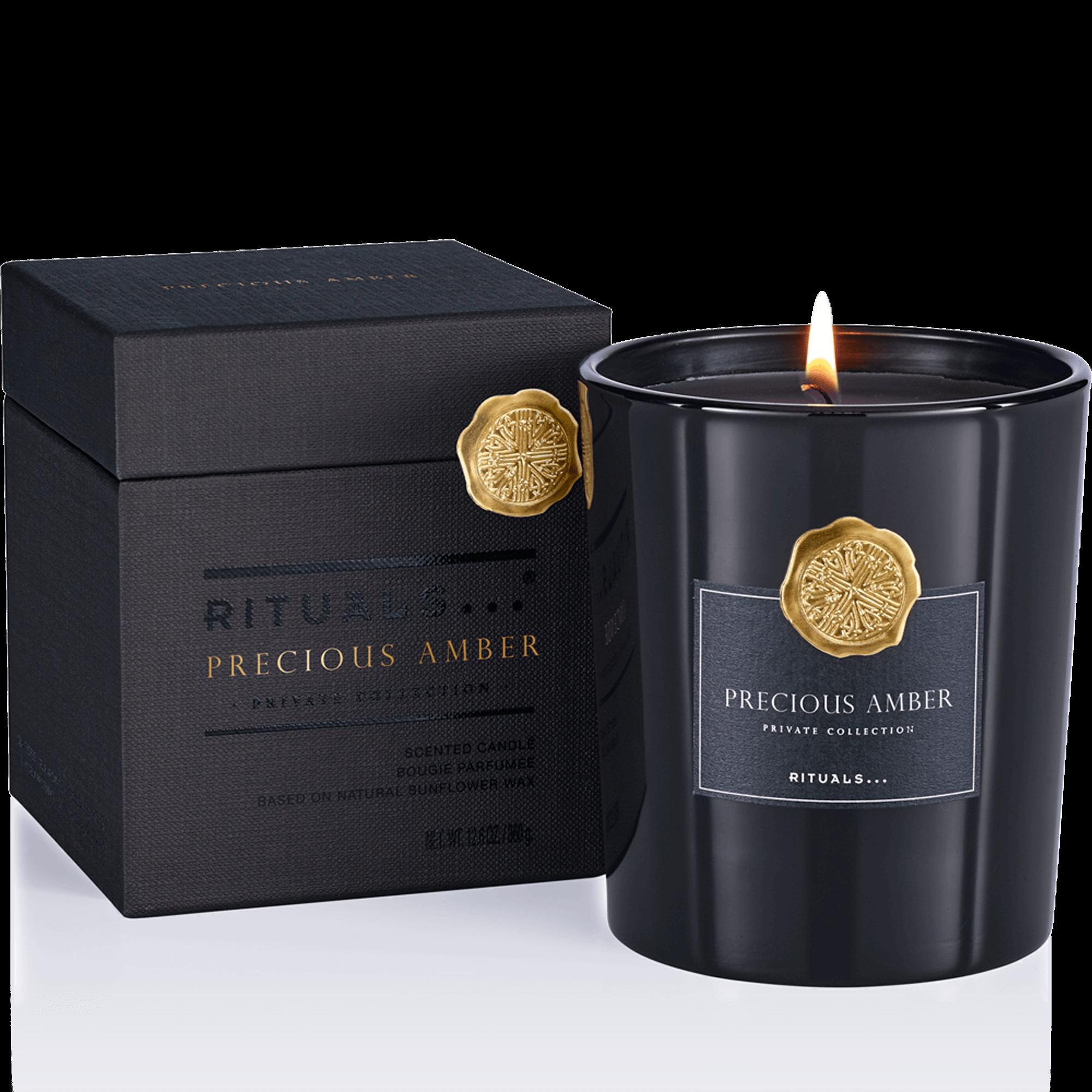 Precious Amber Scented Candle Duftkerzen Kerzen Luxuriose Geschenke