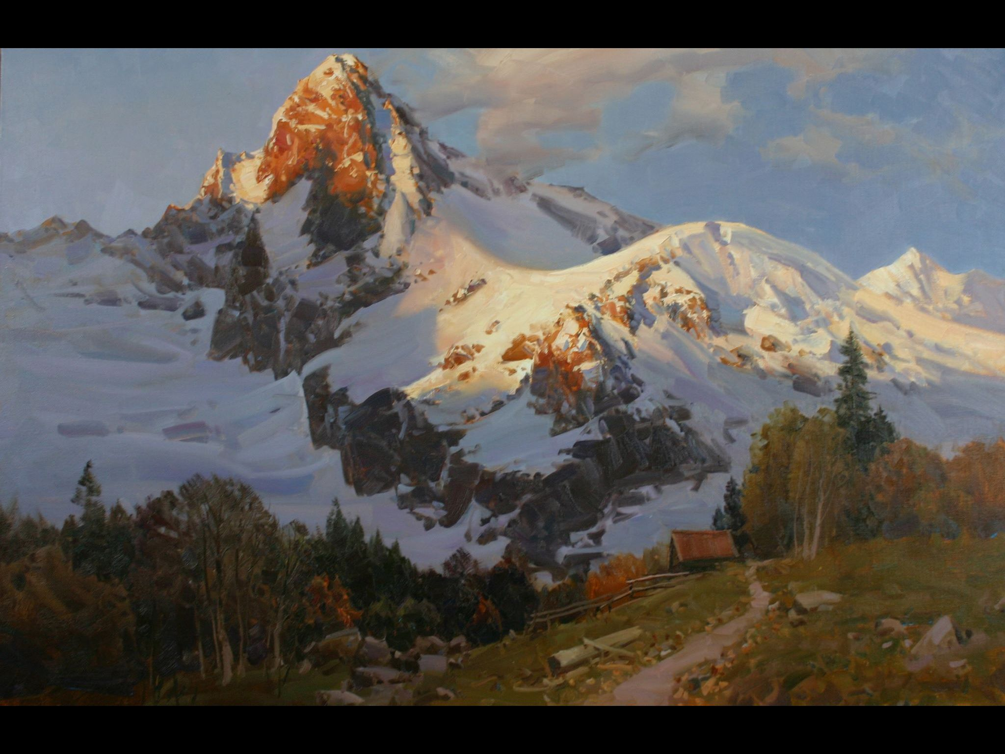 Aleksandr Babich Russian Painter Great Artists Landscaping Paintings And