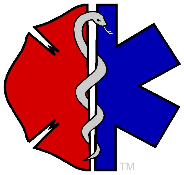 fire department and ems better symbol than keeping them separate rh pinterest com OES Star Clip Art Sea Star Clip Art