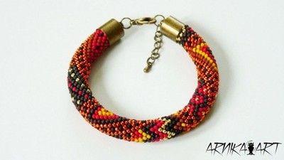 Bransoletka Recznie Pleciona Z Toho Patchwork 5251955922 Oficjalne Archiwum Allegro Rope Bracelet Bracelets Jewelry