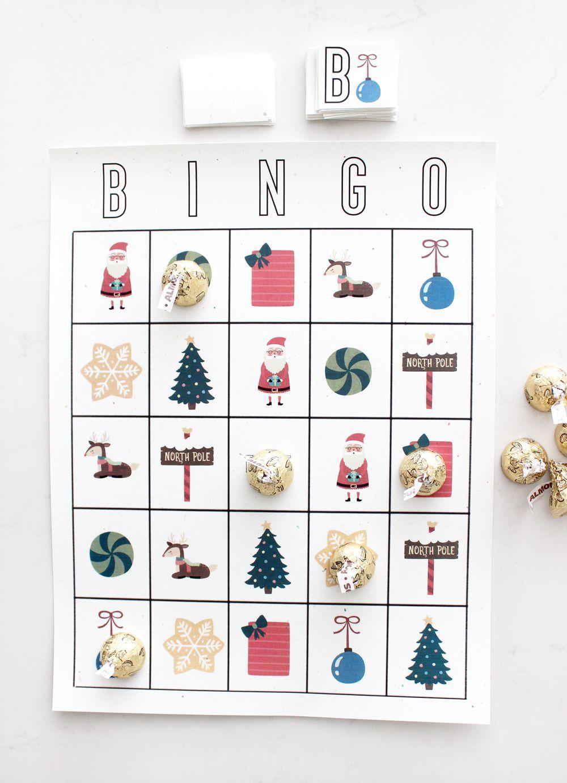 Free printable Christmas Bingo Cards Christmas Things