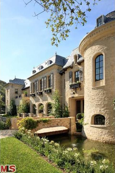 Image result for dr dre french chateau brentwood #Frenchchateau #TomBrady #moat