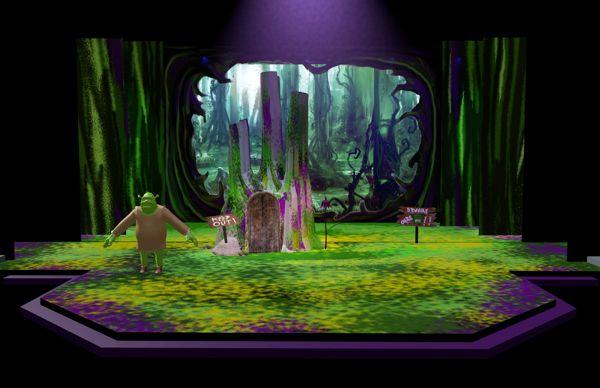 Like The Swamp Pieces Shrek The Musical Sets Shrek The Musical