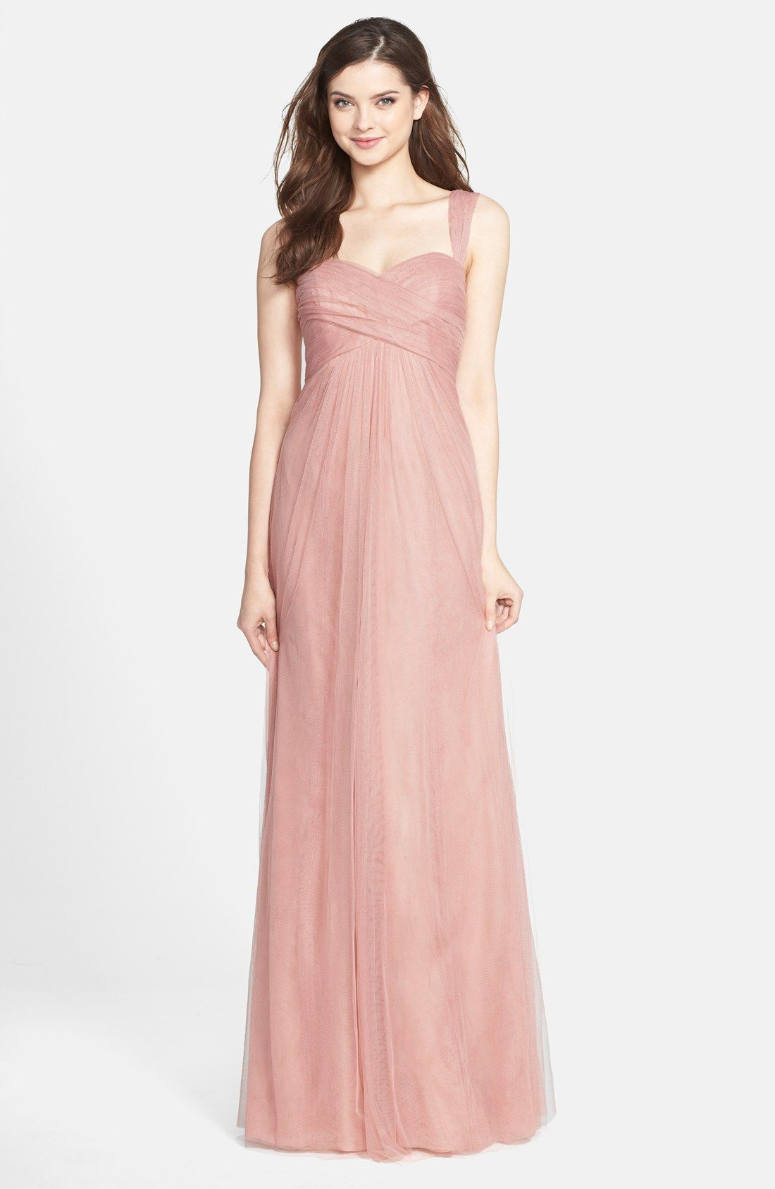 Jenny Yoo \'Willow\' Convertible Tulle Gown | bridesmaid dress ...