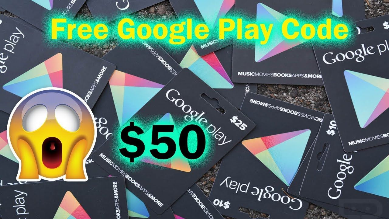 Get Instant 50 Google Play Gift Card Email Delivery Amazon