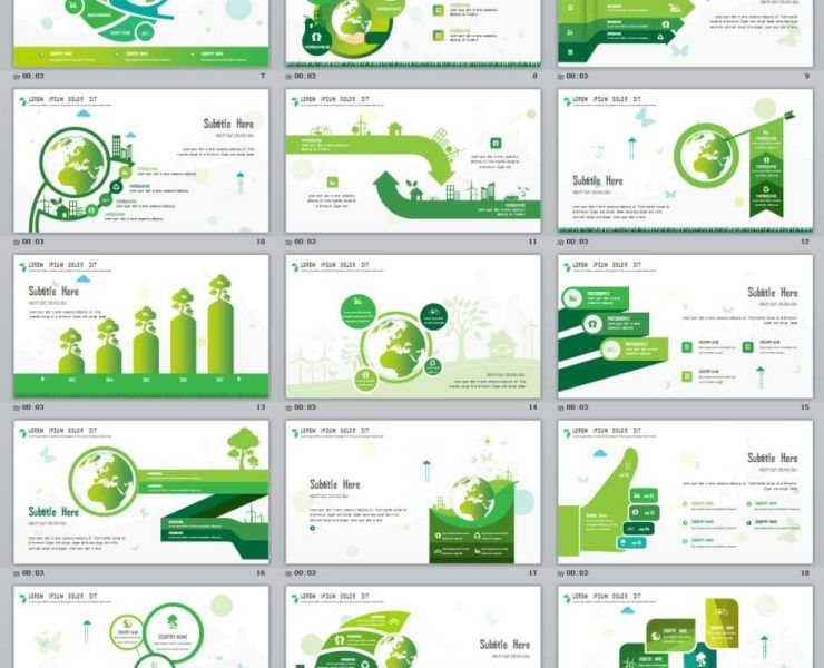 More keynote and powerpoint template 26 Glod Annual Report Chart Powerpoint Template Cv Kreatif Kreatif Gambar