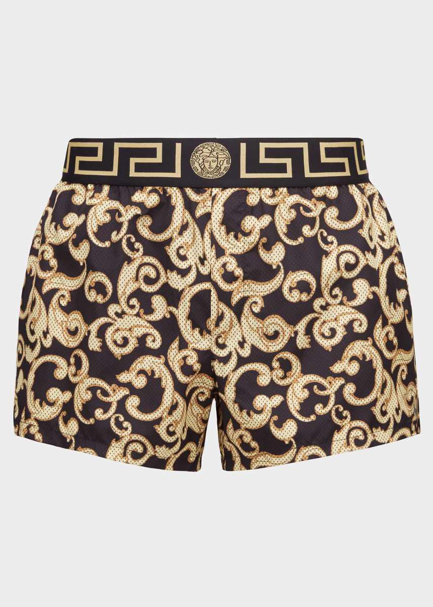 plus de photos 055e8 478fb Short de bain Greca Border Baroque - Versace Homme ...