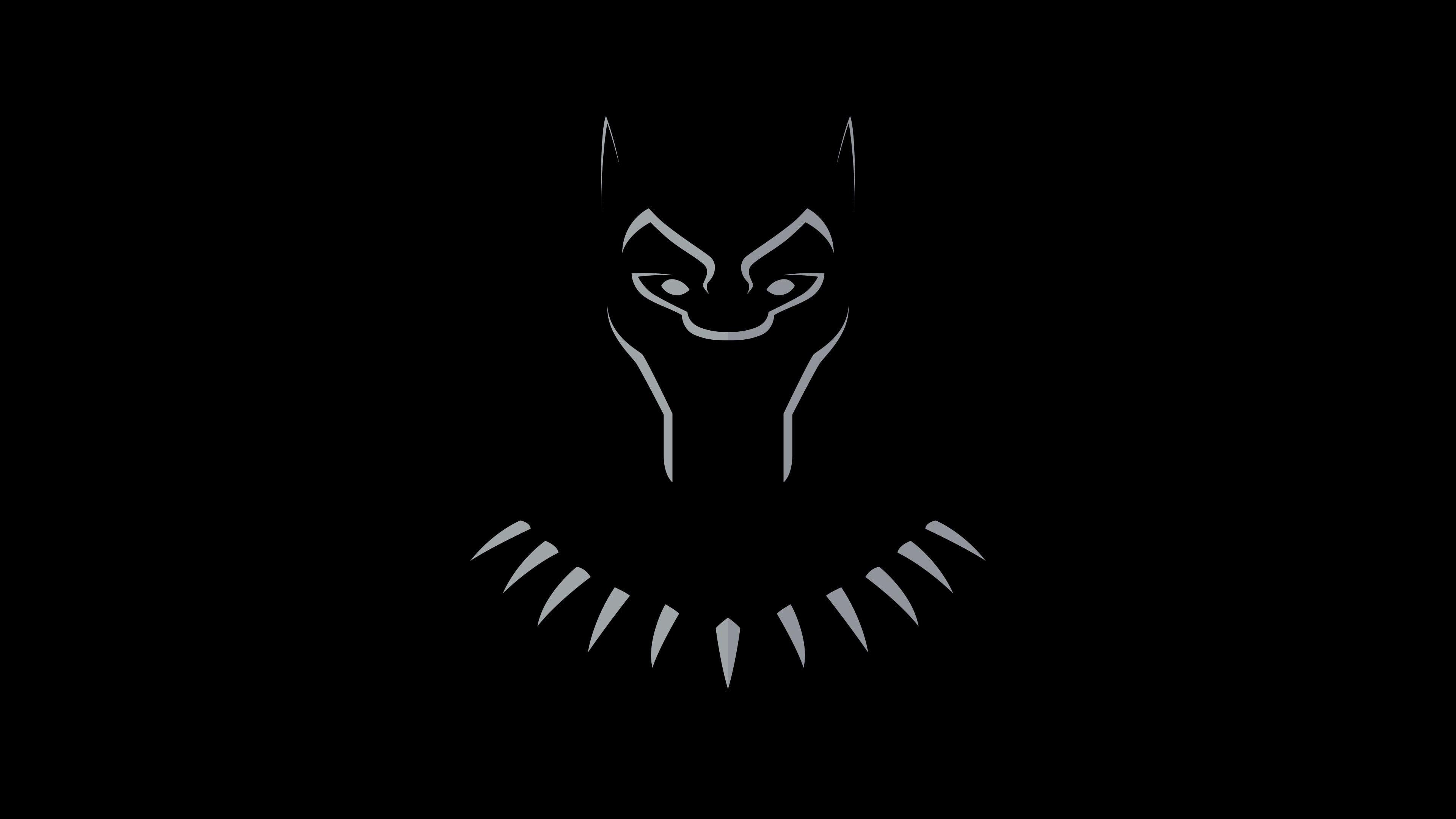 Black Panther Flat Digital Art 4k Wallpaper Hdwallpaper Desktop Black Panther Black Panther Art Black Panther Hd Wallpaper