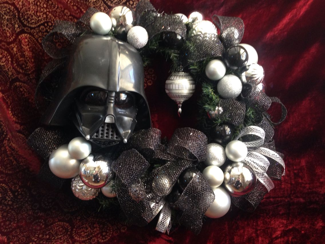 Darth Vader Wreath Star Wars