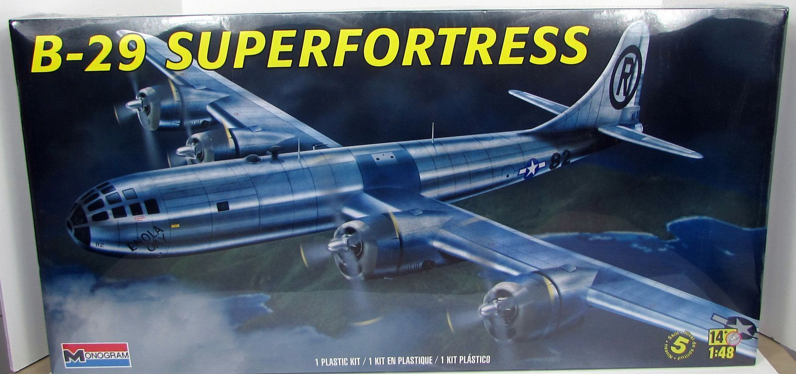 B-29 Superfortress Revell 85-5718 1/48 Scale New Model Airplane Kit