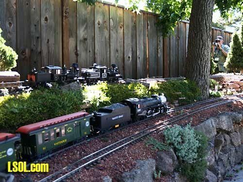 17 Best 1000 images about garden trains on Pinterest Gardens St