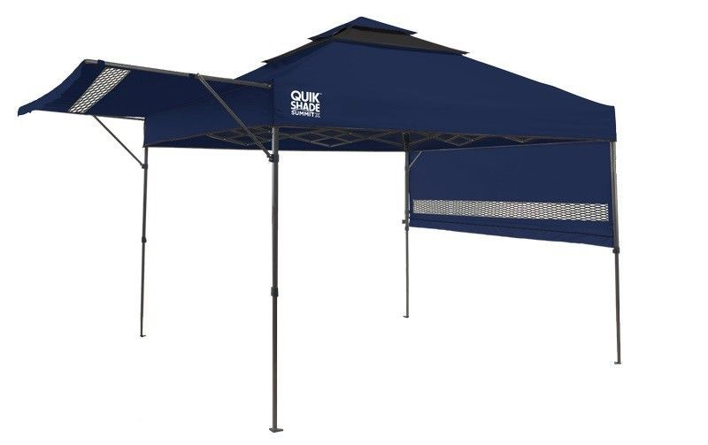 Summit 10 Ft W X 10 Ft D Metal Pop Up Canopy Instant Canopy Canopy Shelter Shade Tent