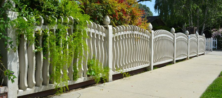 concrete fence wall from Stackwall | Compound Wall Pvc Mould