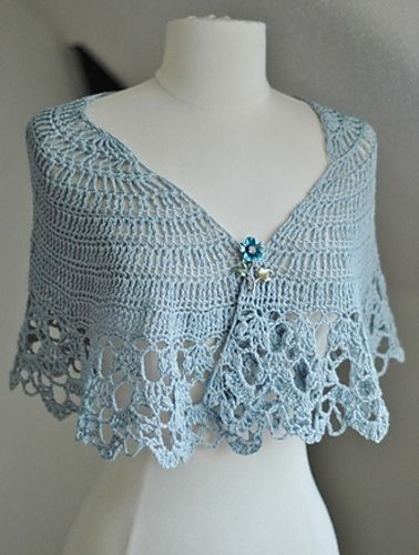 Queen Annes Shawl Pattern By Rebecca Velasquez Ravelry Shawl And