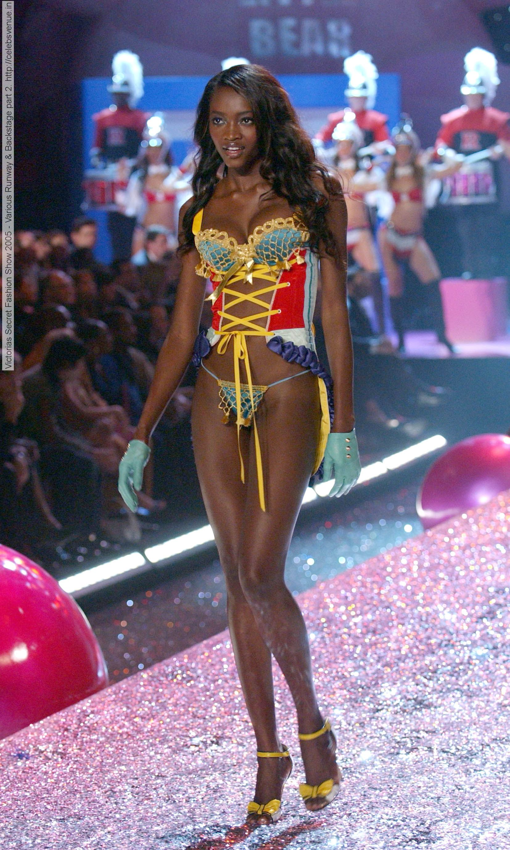 Oluchi Onweagba, on Victorias Secret Fashion Show, 2014 ...