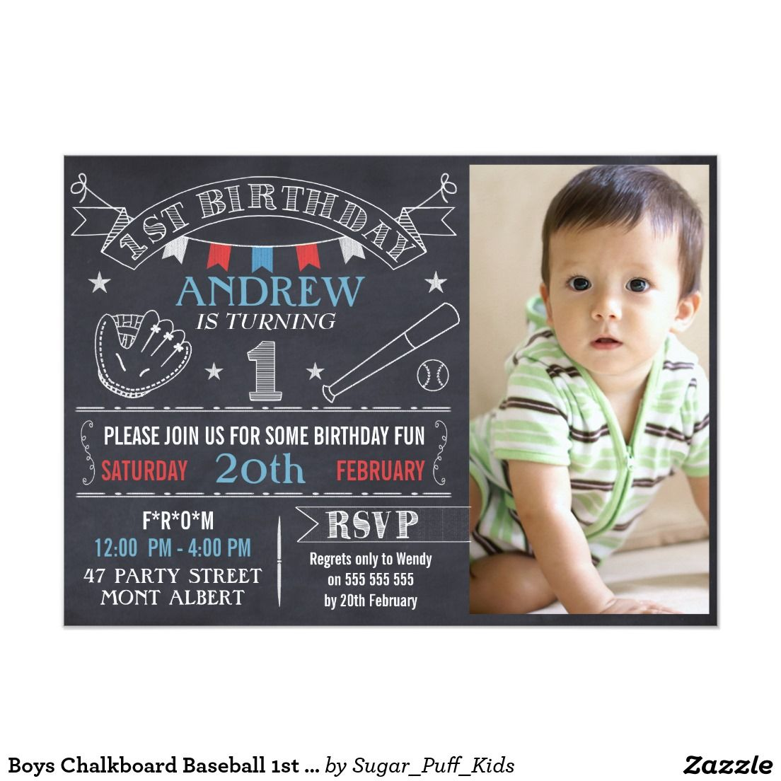 Famous Boys 1st Birthday Invites Gallery Invitations Design