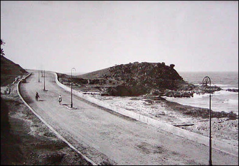Salvador antiga - Morro do Cristo / Barra