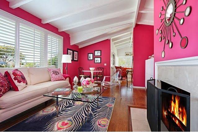 Teor a del color vii rosa decoraci n blog salones hogar y decoracion salones - Blog decoracion salones ...