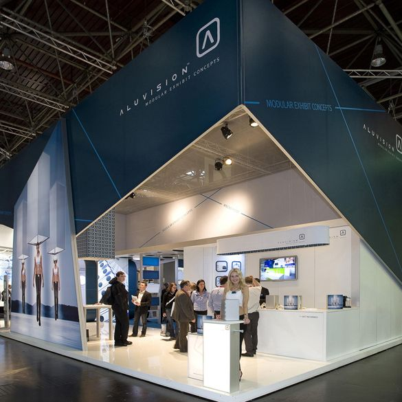 Exhibition Stand Structure : Aluvision inc modular exhibit systems exhibitor