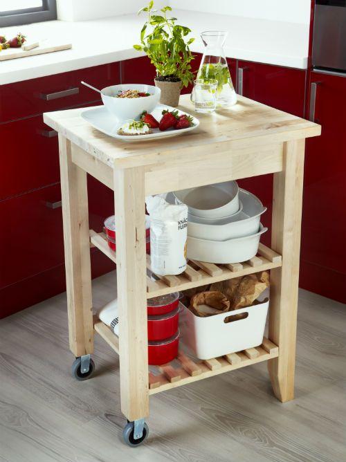 BEKVÄM Kitchen Cart, Birch