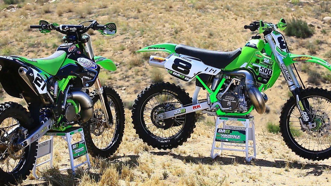 Kawasaki Kx 250 2 Stroke Vs Kx 500 2 Stroke Dirt Bike Magazine