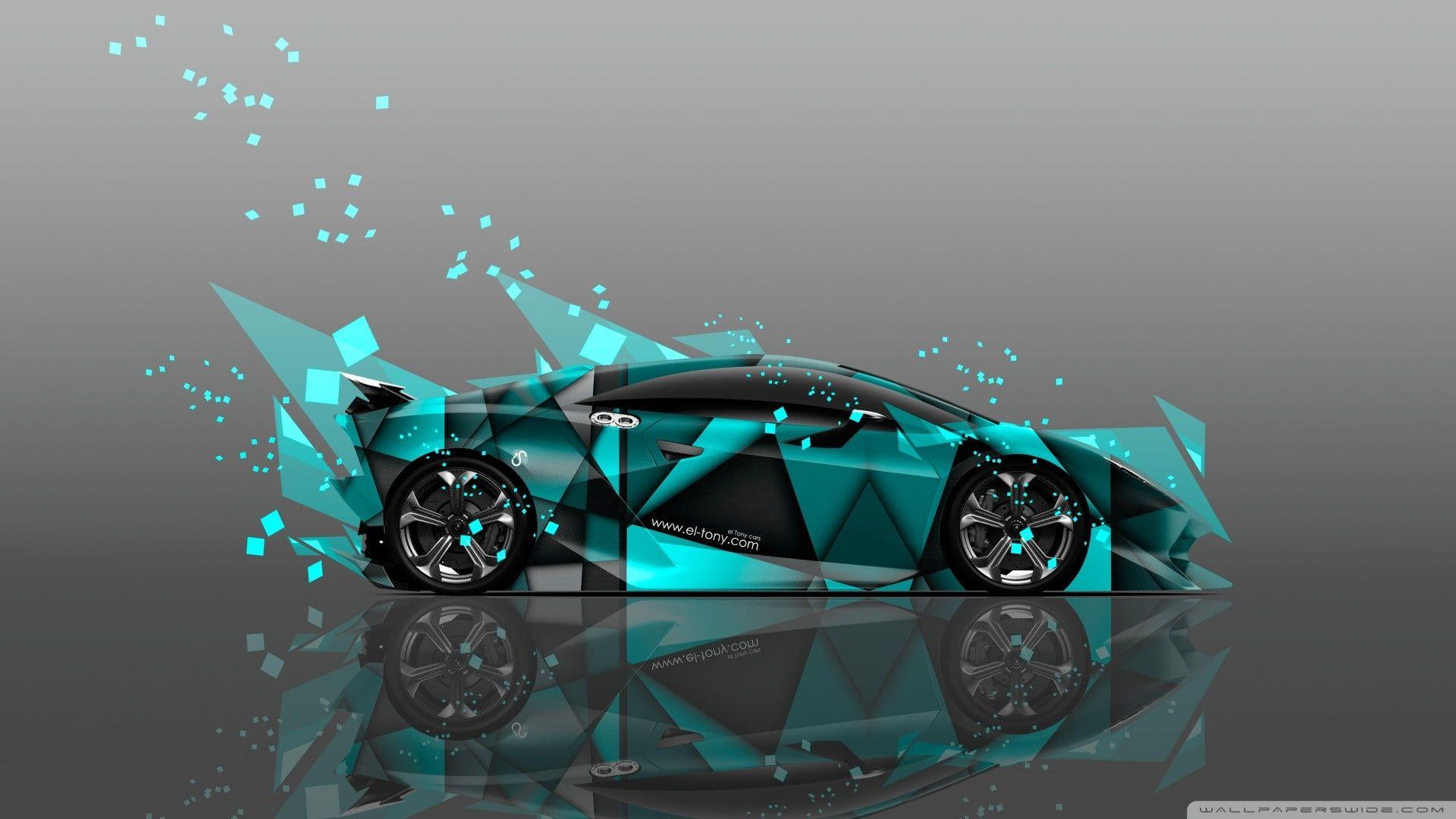 Teal Supercar Coupe Carros Car 1080p Wallpaper Hdwallpaper Desktop Uhd Wallpaper Hd Wallpaper Car Wallpapers
