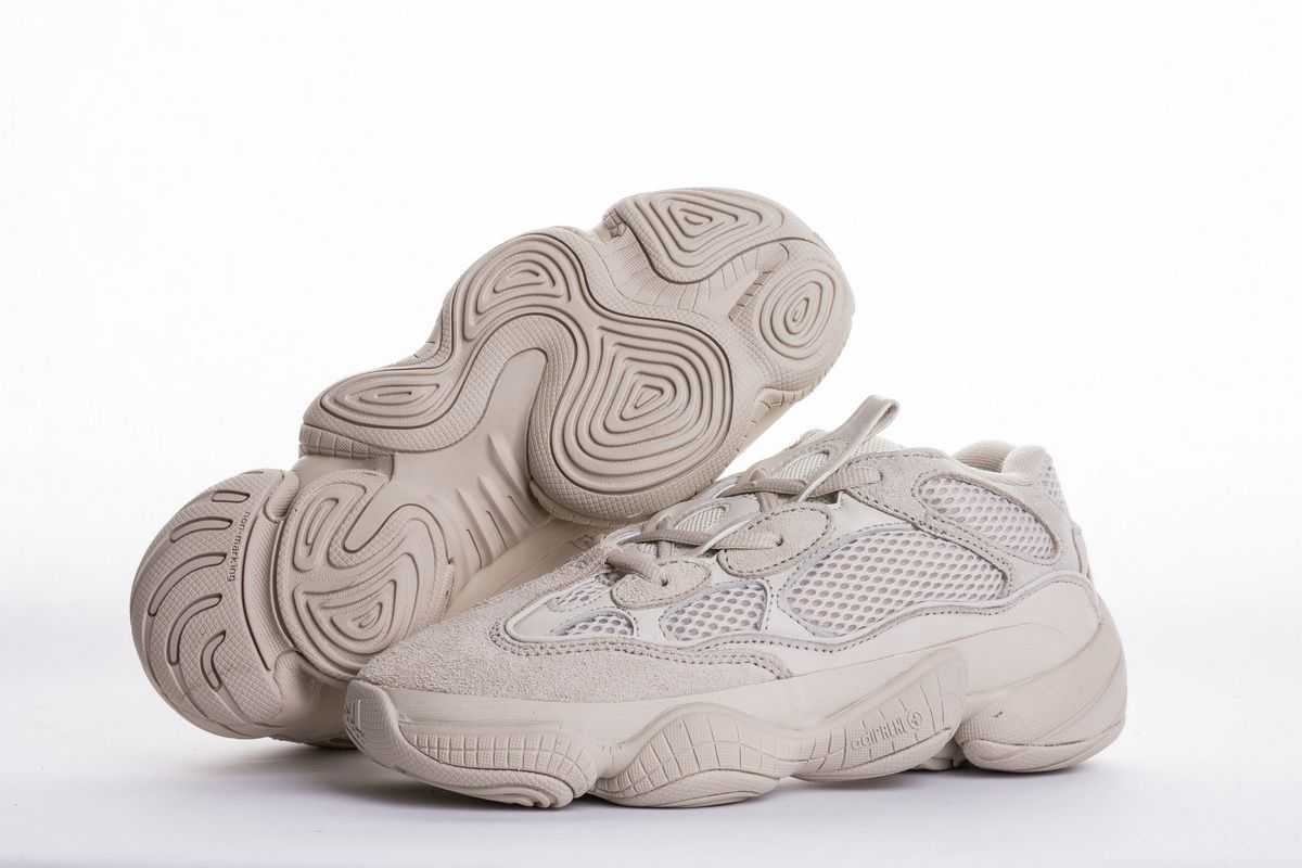 50be23cc9 Adidas Yeezy 500 Blush DB2908 Grey Real Boost4
