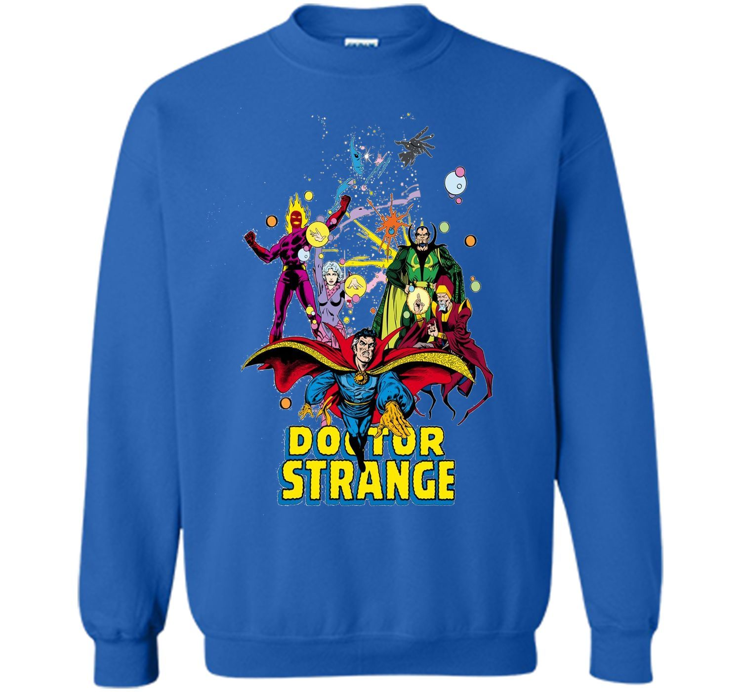 87797632d9e3 Marvel Doctor Strange Classic Comic Scene Graphic T-Shirt | Products