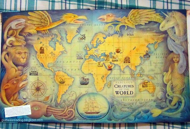 This map will help you find all these magical mythical creatures!
