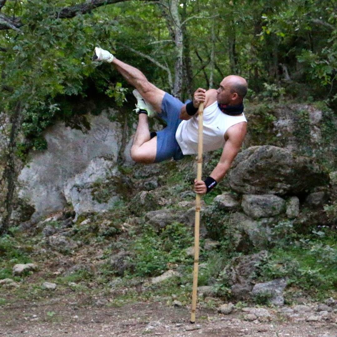 Eric Dulta, passionné de Trial mais aussi ayant un sacré niveau en Arts martiaux !
