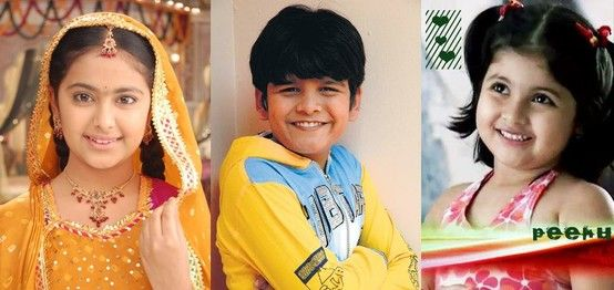 Popular Child Actors in Indian TV Serials | Child actors