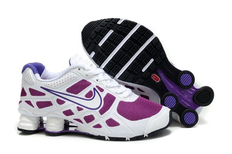 Nike Shox Turbo+ 12 Frauenschuhe Weiß Lila