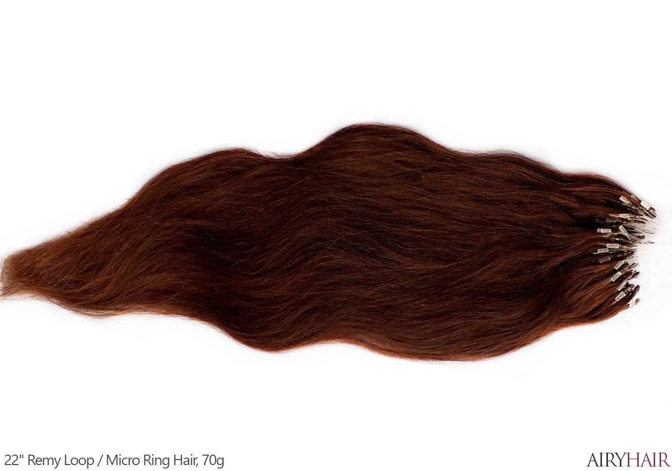 Remy Micro Link Loop Hair Extensions (With images) | Loop hair extensions