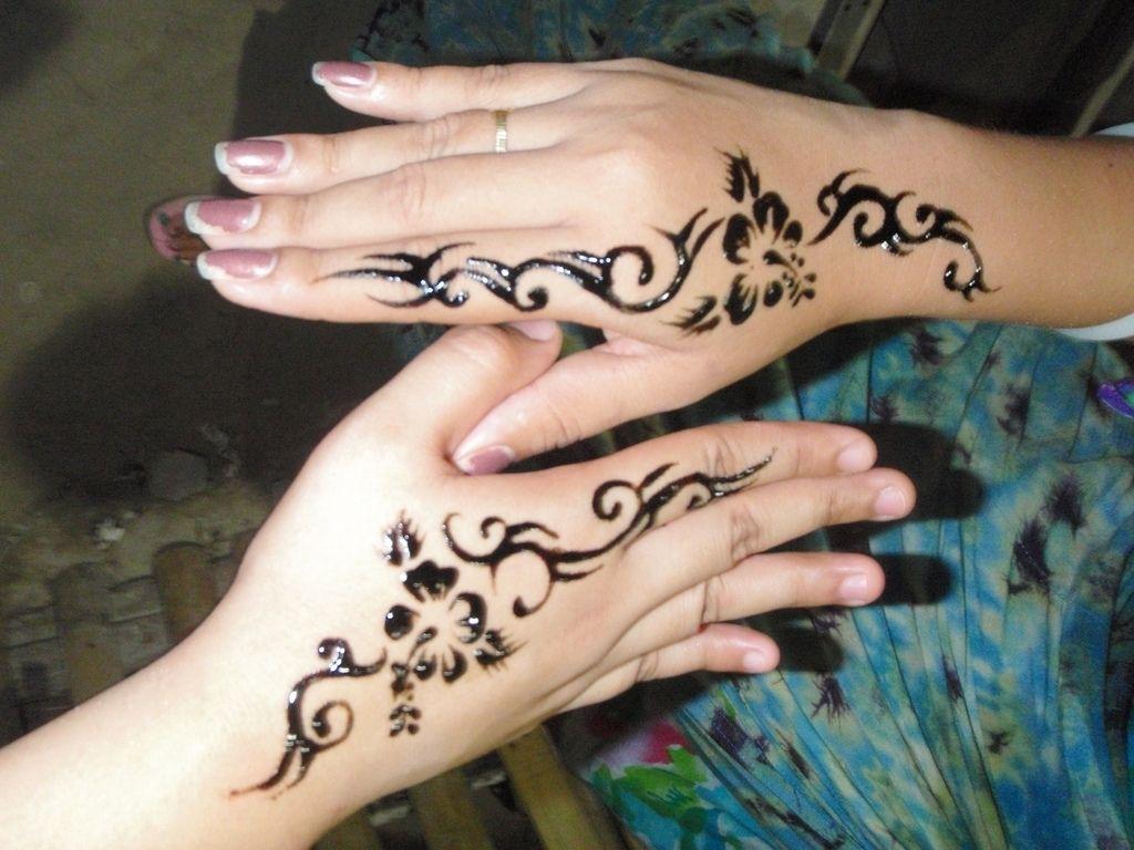 Side Tattoo For Women Henna: Hand Tattoos For Women, Hand