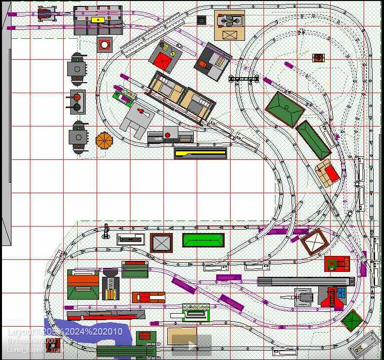 U Shaped Super O    Layout       diagram    1   Lionel Super O      Model    railway track plans  Lionel    trains