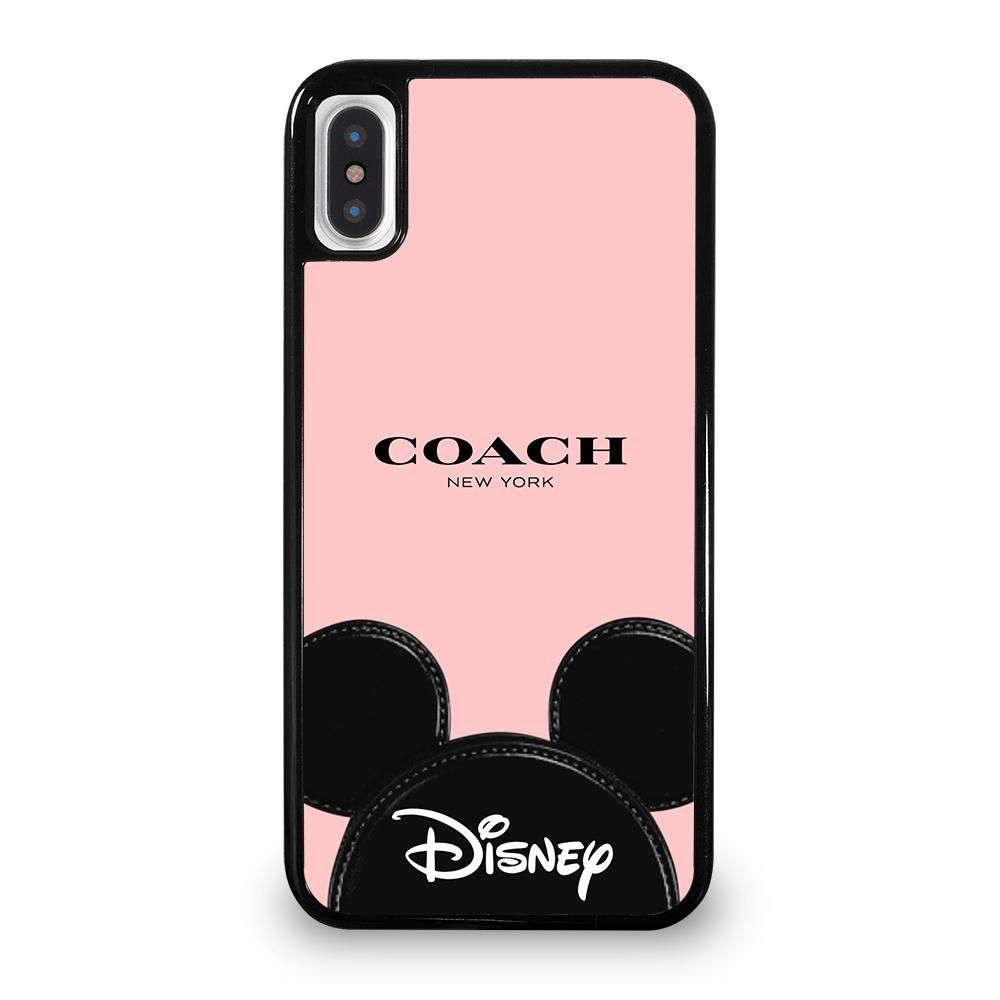 online store f5df2 bb5e3 COACH NEW YORK DISNEY iPhone 5/5S/SE 5C 6/6S 7 8 Plus X/XS Max XR ...
