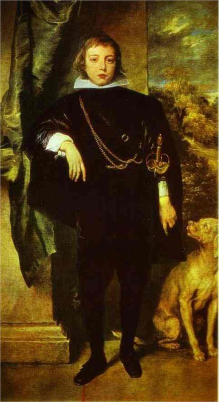 Anthony van Dyck, Prince Rupert von der Pfalz, c. 1631 - 1632