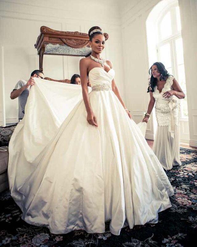 Former Miss USA Crystle Stewart got married in LAZARO   princess ...