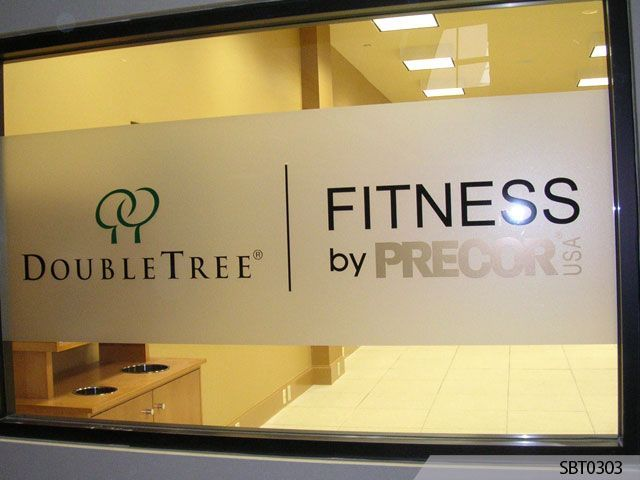 Design Your Own Personalised Business Signs Text Logo Frosted Window Vinyl Film