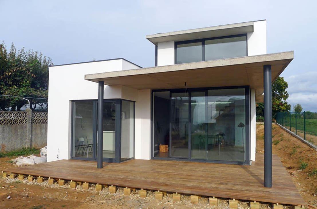 une maison de 100m avec extension petit prix home. Black Bedroom Furniture Sets. Home Design Ideas