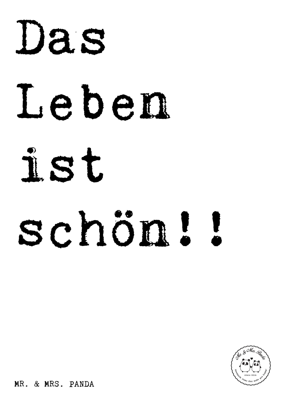 Sympathisch Zitaten Leben Dekoration Von Spruch: Das Ist Schön!! - Sprüche, Zitat,