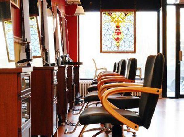Interior Design | Red 7 Salon, Evanston | Commercial Interiors